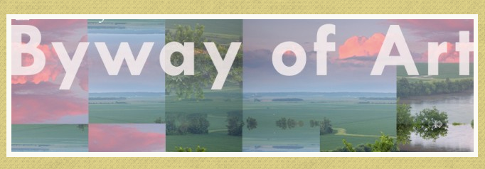 BYWAY OF ART - Project: A new project called BYWAY OF ART that will be completed at the end of next summer where we will be leading the creation of 4 community-specific public artworks in 4 rural communities in Nebraksa funded by .