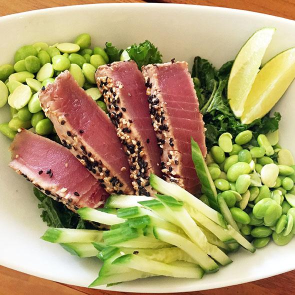 Kale-salad-with-cucumbers-edamame-and-seared-sesame-tuna-with-lime-juice.jpg
