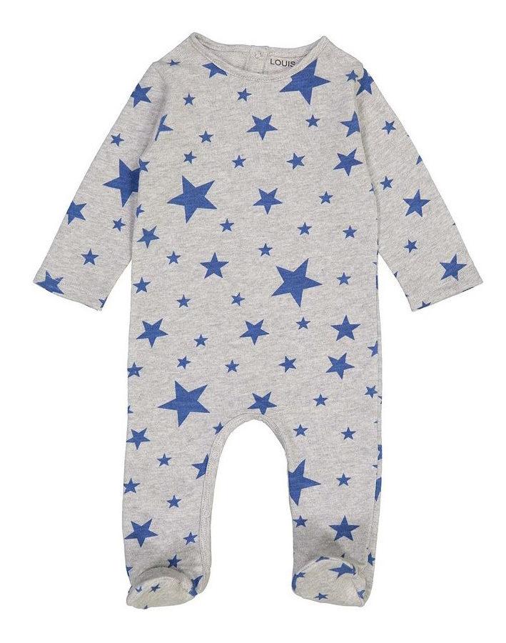 Pyjamas-Maxou-Cotton_Fleece_Stars-Marled_Grey-Light_Blue_1.jpg