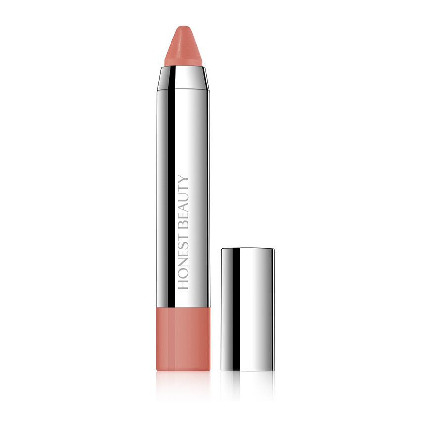 Honest Beauty Truly Kissable Lip Crayon - Sheer - Chestnut Kiss