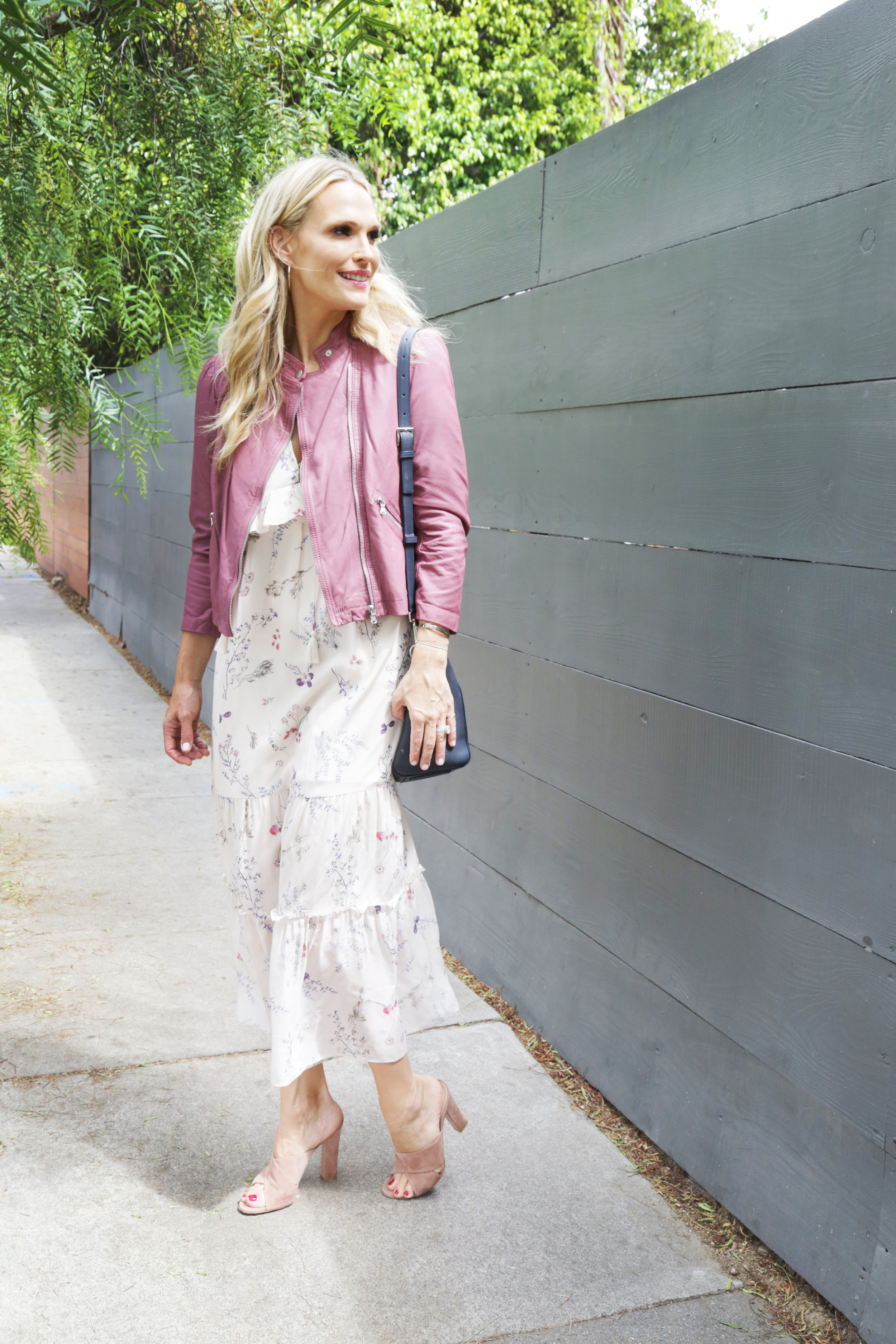 RACHEL ZOE Belmont ruffled floral-print silk-chiffon maxi dress
