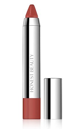 """Honest Beauty truly kissable lip crayon in """"chestnut kiss"""""""