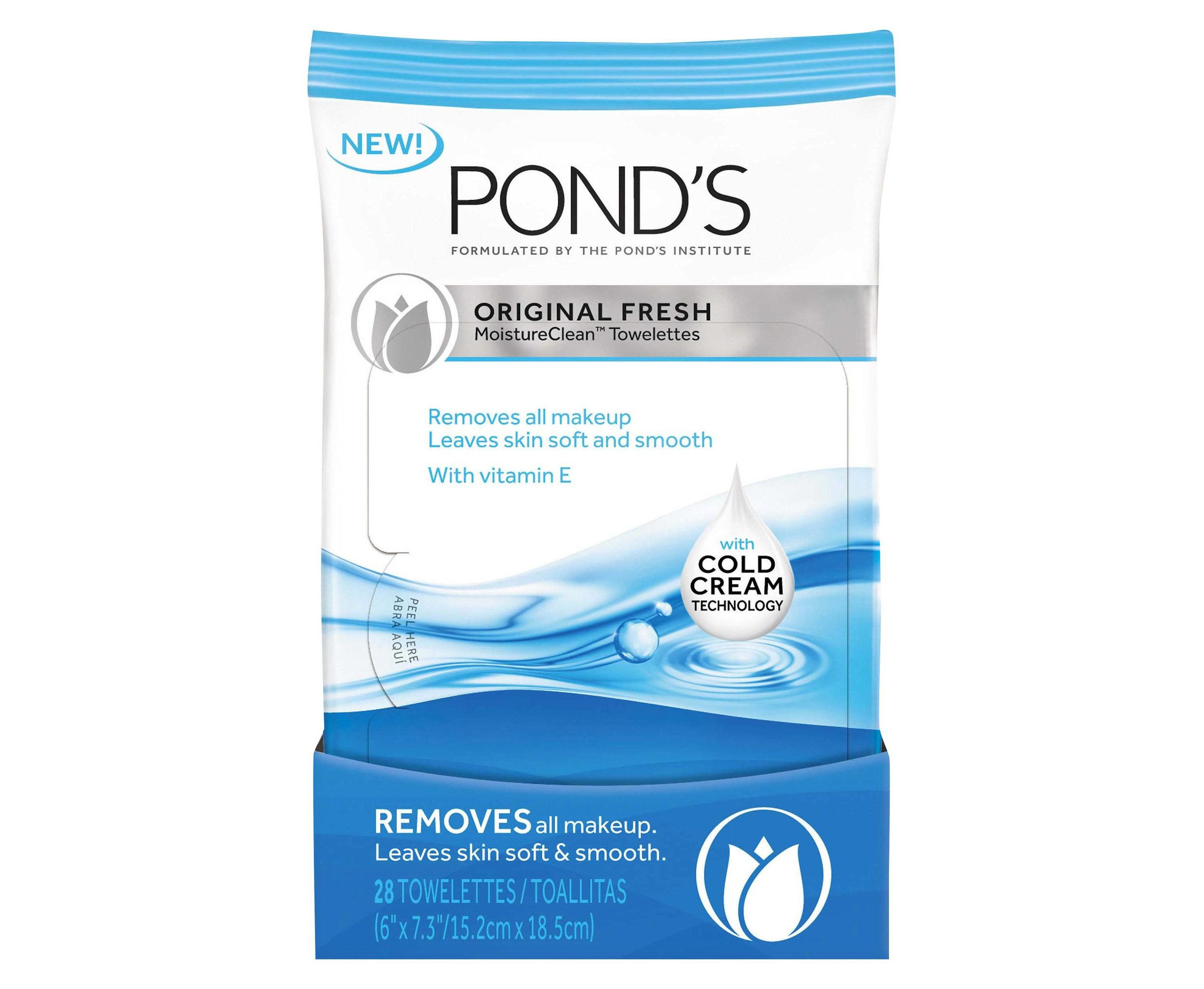 Ponds face wipes