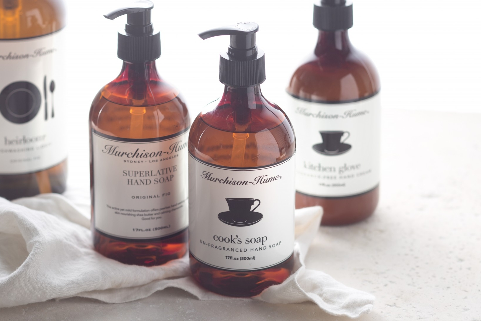 Murchison Hume - Not only do these all-natural cleaning products do the job, but the packaging is super stylish. I have their hand soap in all my bathrooms!