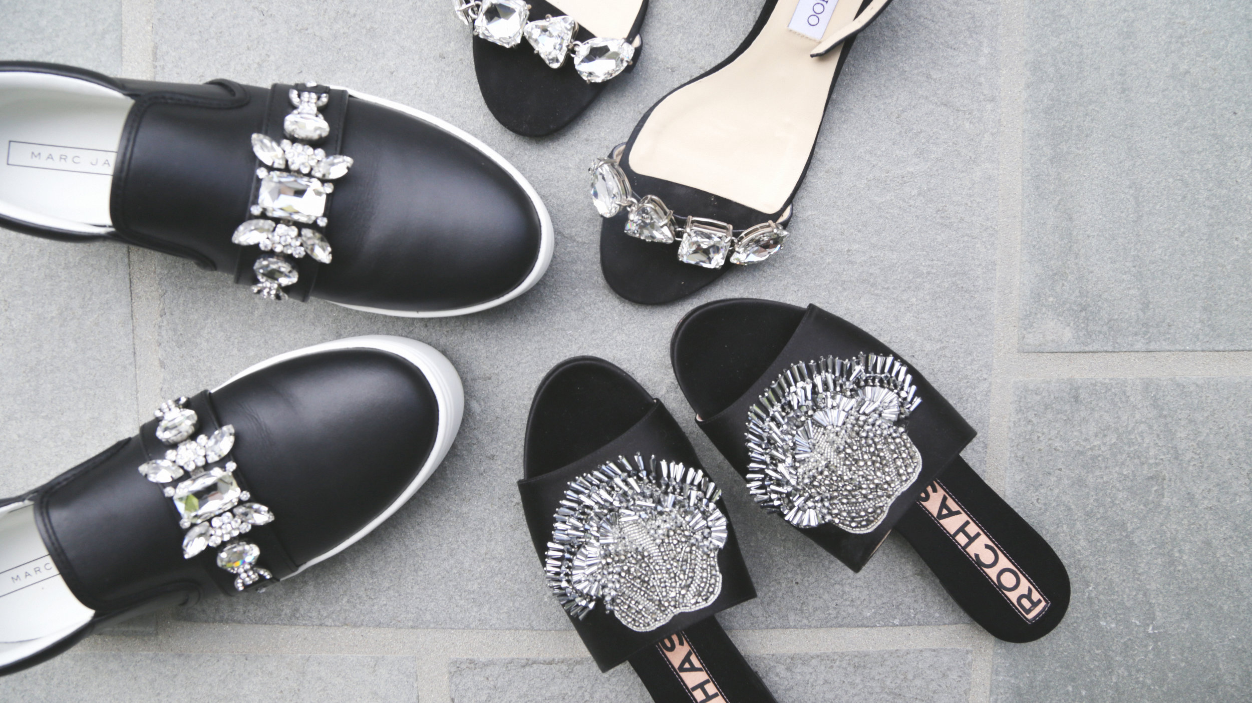 Molly Sims Cool Mom Embellished Shoes, photography by Erica Hampton