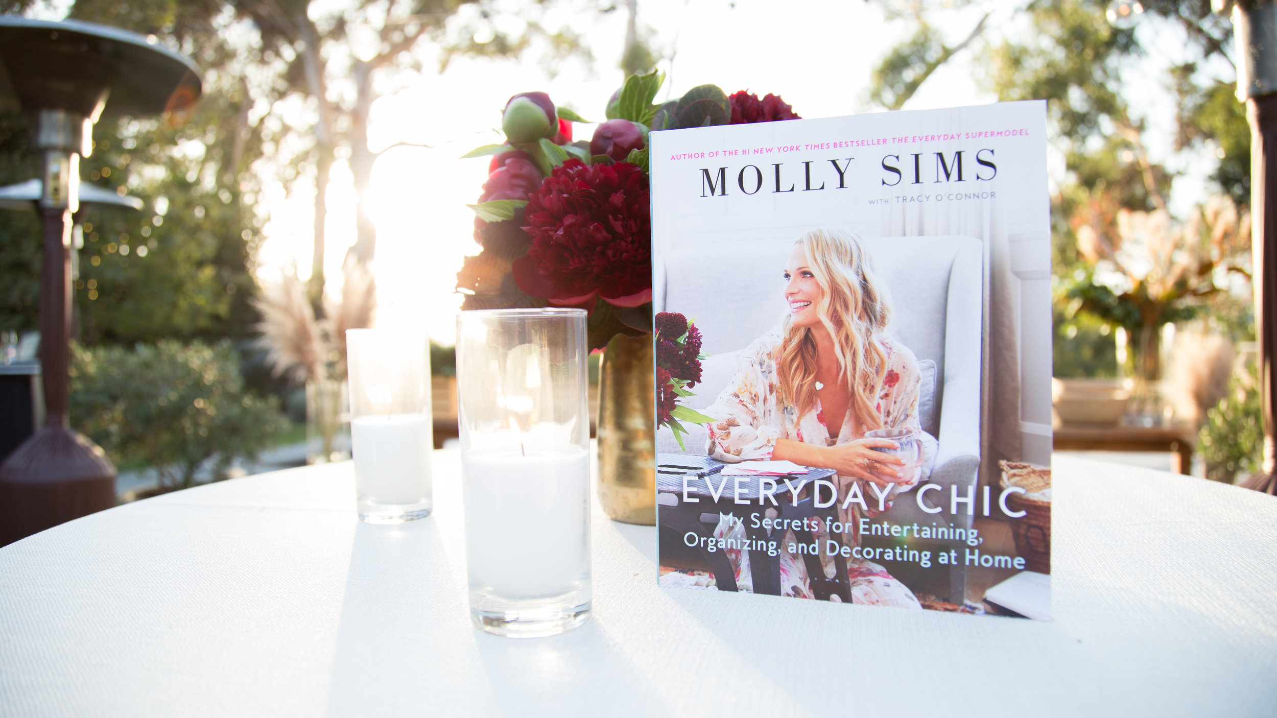 Molly Sims Everyday Chic Book Launch, photography by Erica Hampton