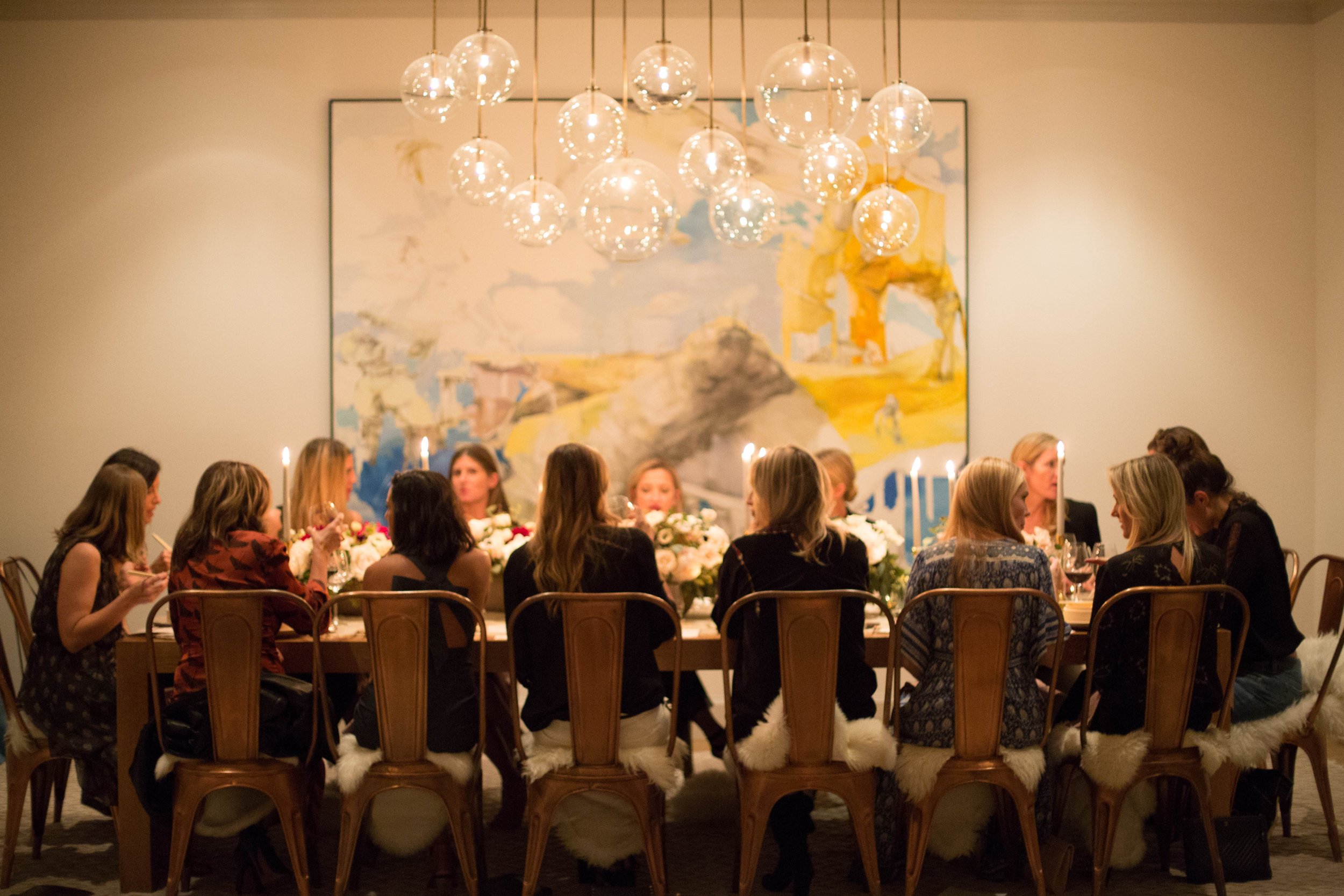 How to Host an Everyday Chic & Intimate Dinner with Friends