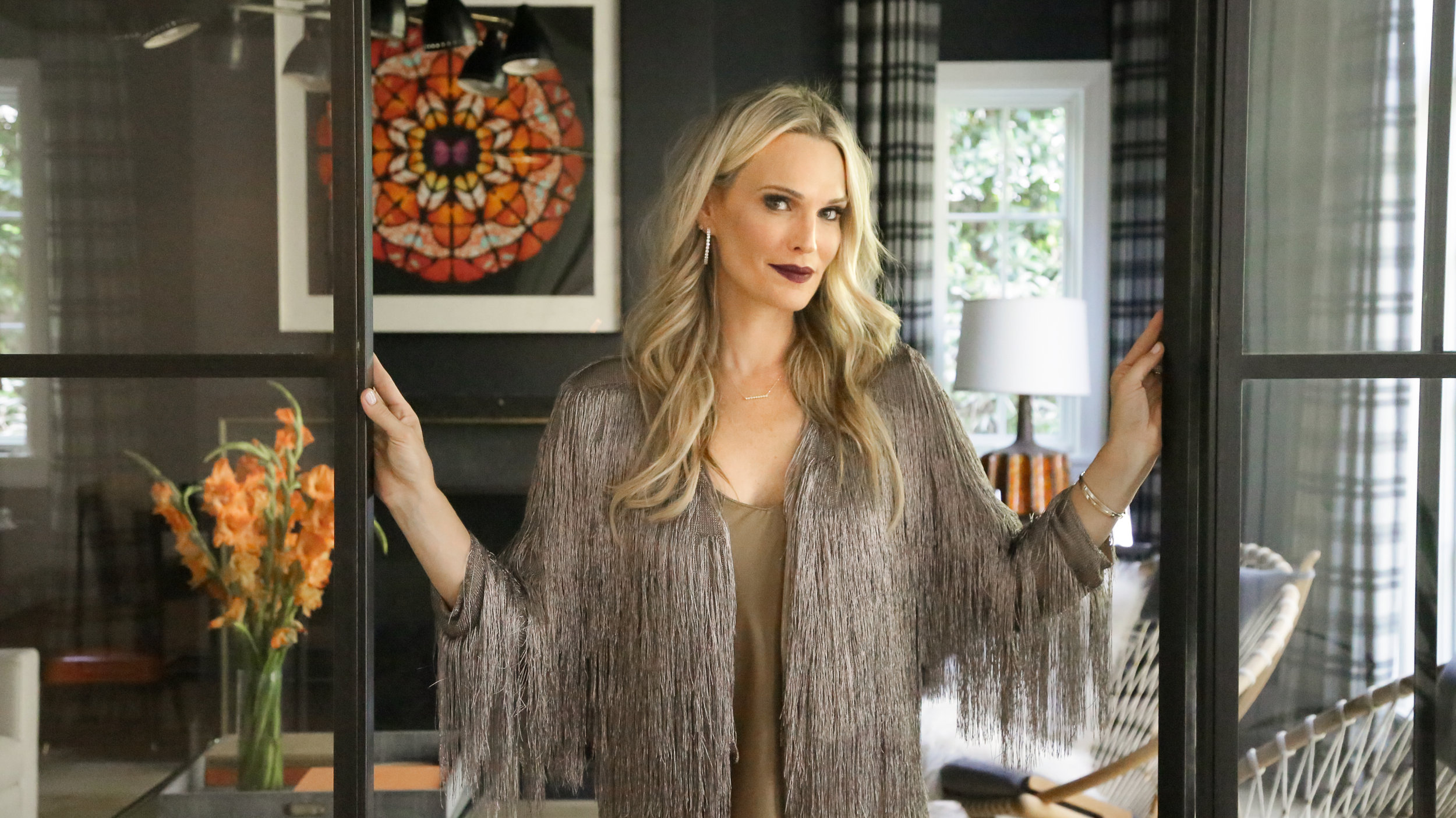 Molly Sims - Three Ways To Wear A Slip Dress For Every Occasion - photography by Erica Hampton