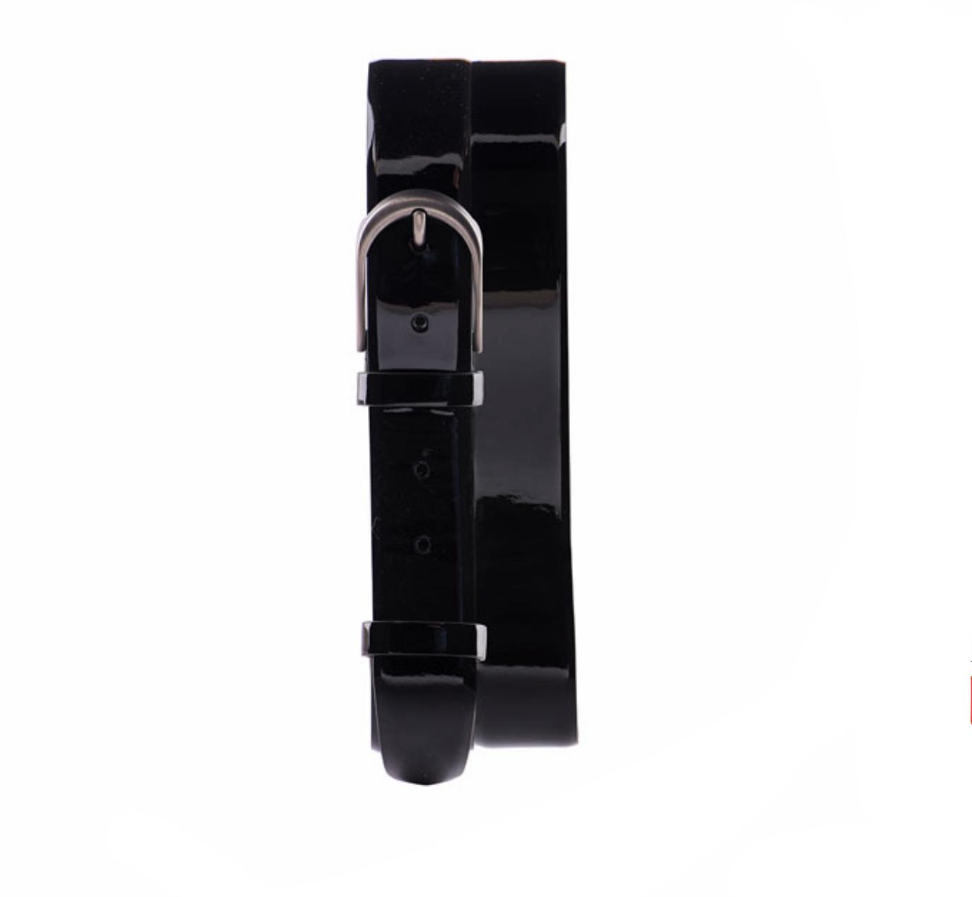 Jared Lang Patent Leather Belt