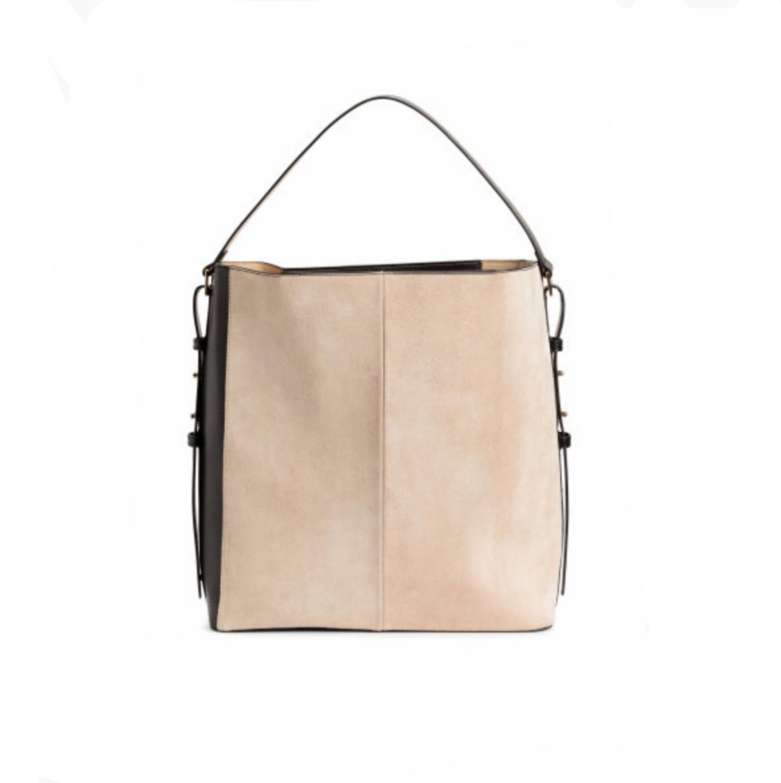 H&M Handbag with Suede Details