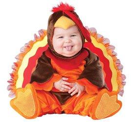 InCharacter Baby Lil' Gobbler Turkey Costume