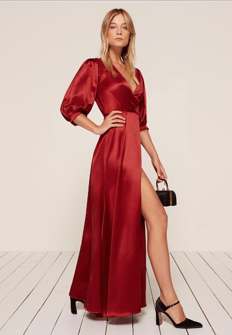 Reformation Olivine Dress