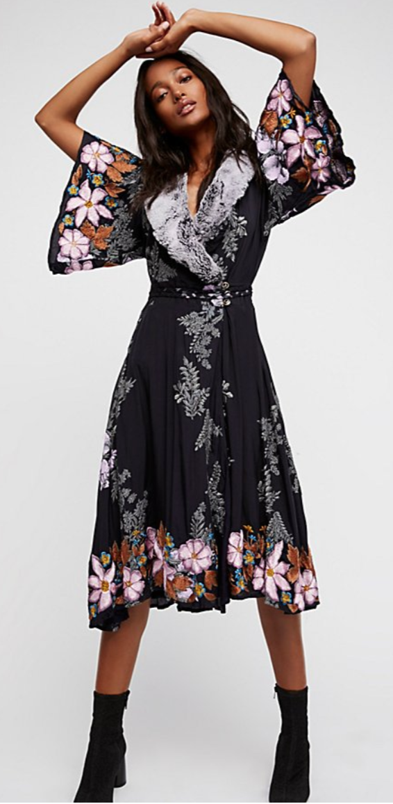 Free People Cocktail Hour Dress