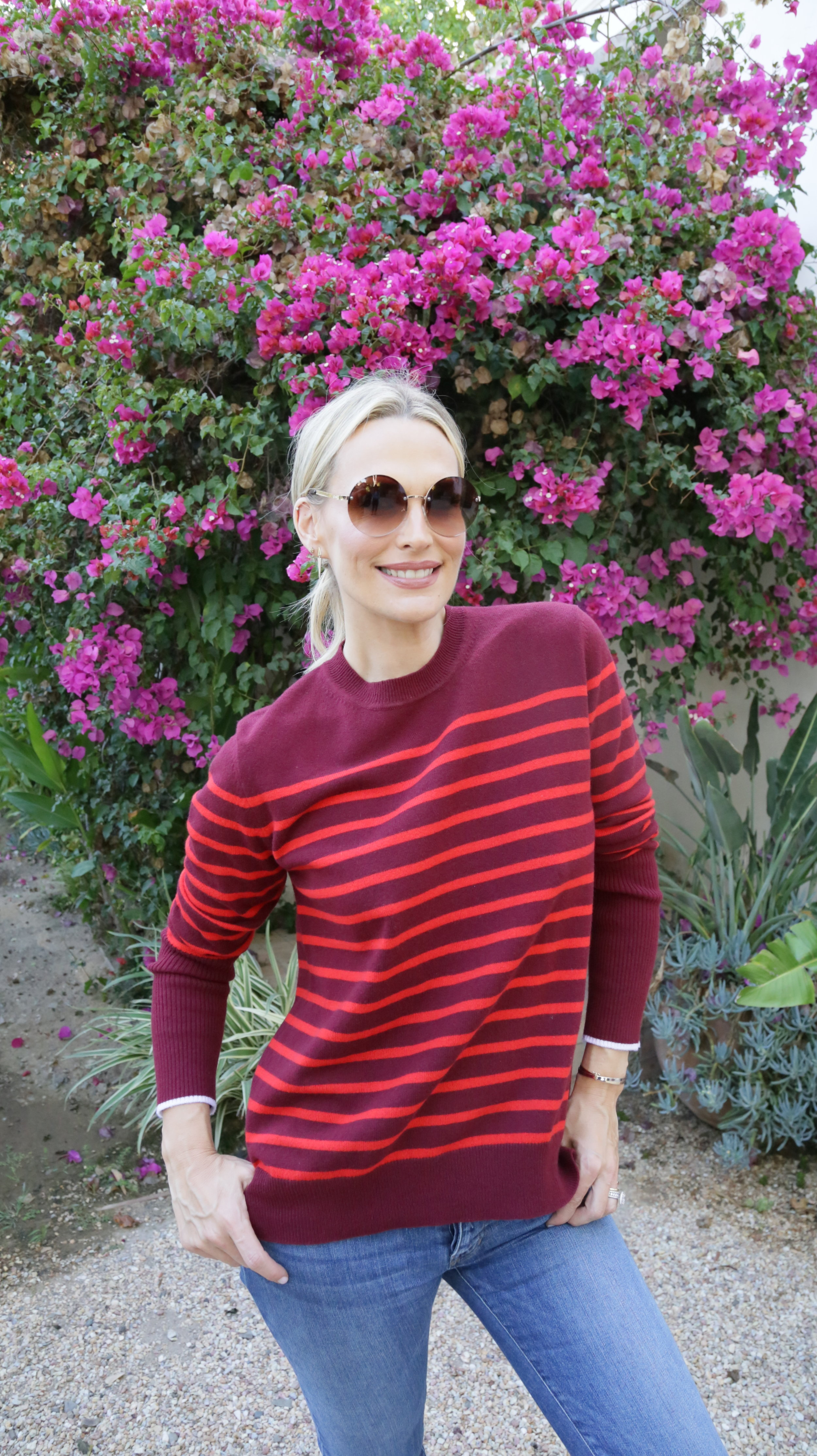 Red Sweater Two Ways Photography: Erica Hampton