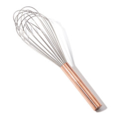 "12"" COPPER HANDLE WHISK"
