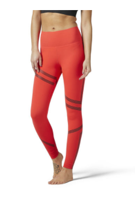 Reebok LINEAR HIGH RISE LEGGING
