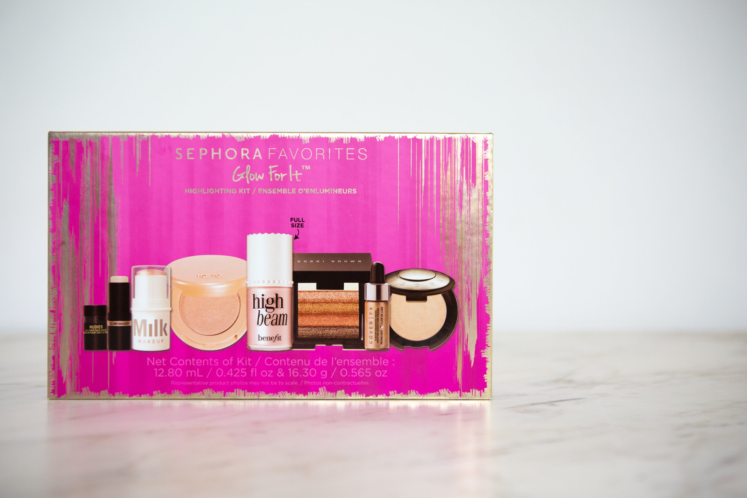 Glow For It Box From Sephora Photography: Iana kozelsky