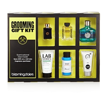 BLOOMINGDALE'S MEN'S GROOMING GIFT KIT - 100% EXCLUSIVE