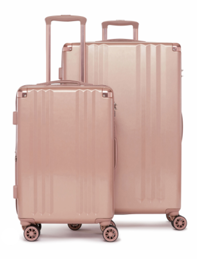 AMBEUR 2-PIECE SPINNER LUGGAGE SET