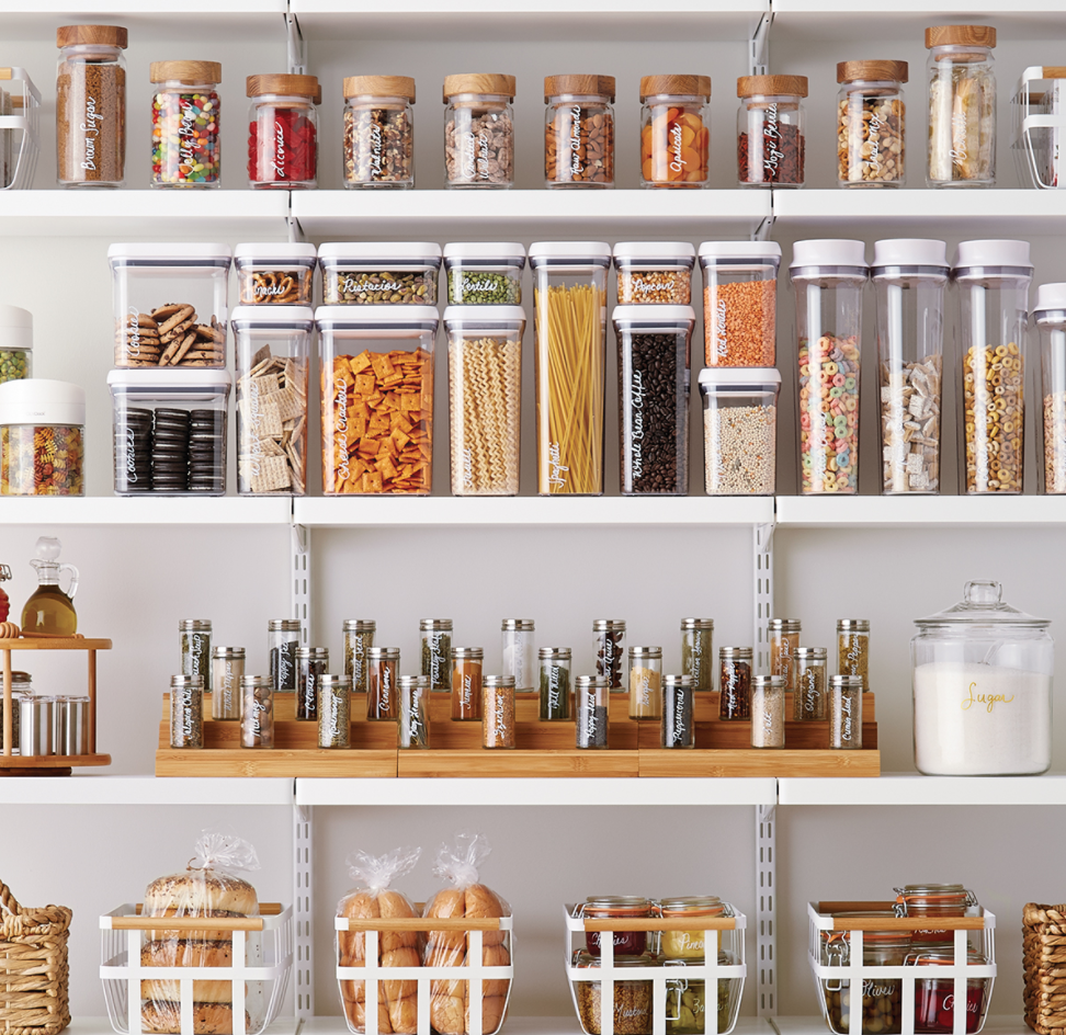 LUXURY PANTRY STARTER KIT | THE CONTAINER STORE