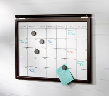 DAILY SYSTEM MAGNETIC WHITEBOARD CALENDAR