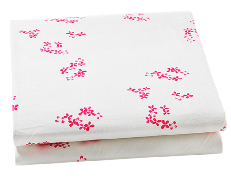 Little Auggie Crib Sheet, Pretty with Pink
