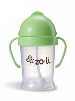 ZOLI BOT STRAW SIPPY CUP - GREEN 6 OZ