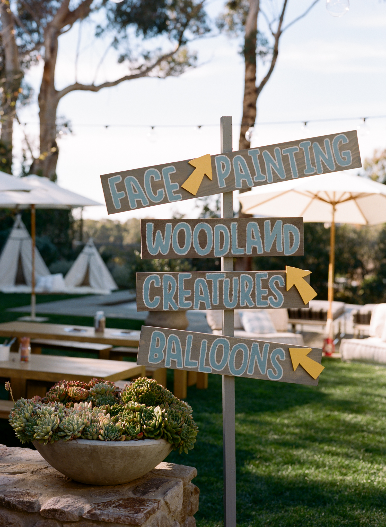 Grey's First Birthday Party: CAMP STUBER Photography: Gia Canali