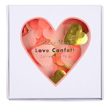 MERI MERI HEART CONFETTI BOX
