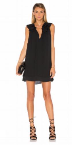 AMANDA UPRICHARD BELLE DRESS IN BLACK