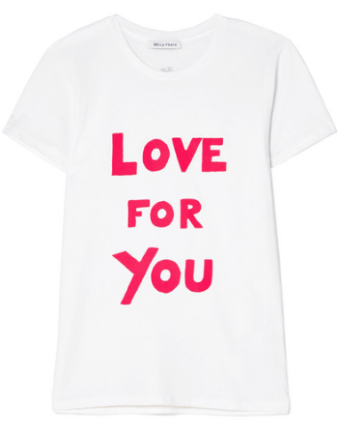INTERNATIONAL WOMEN'S DAY LOVE FOR YOU PRINTED COTTON-JERSEY T-SHIRT