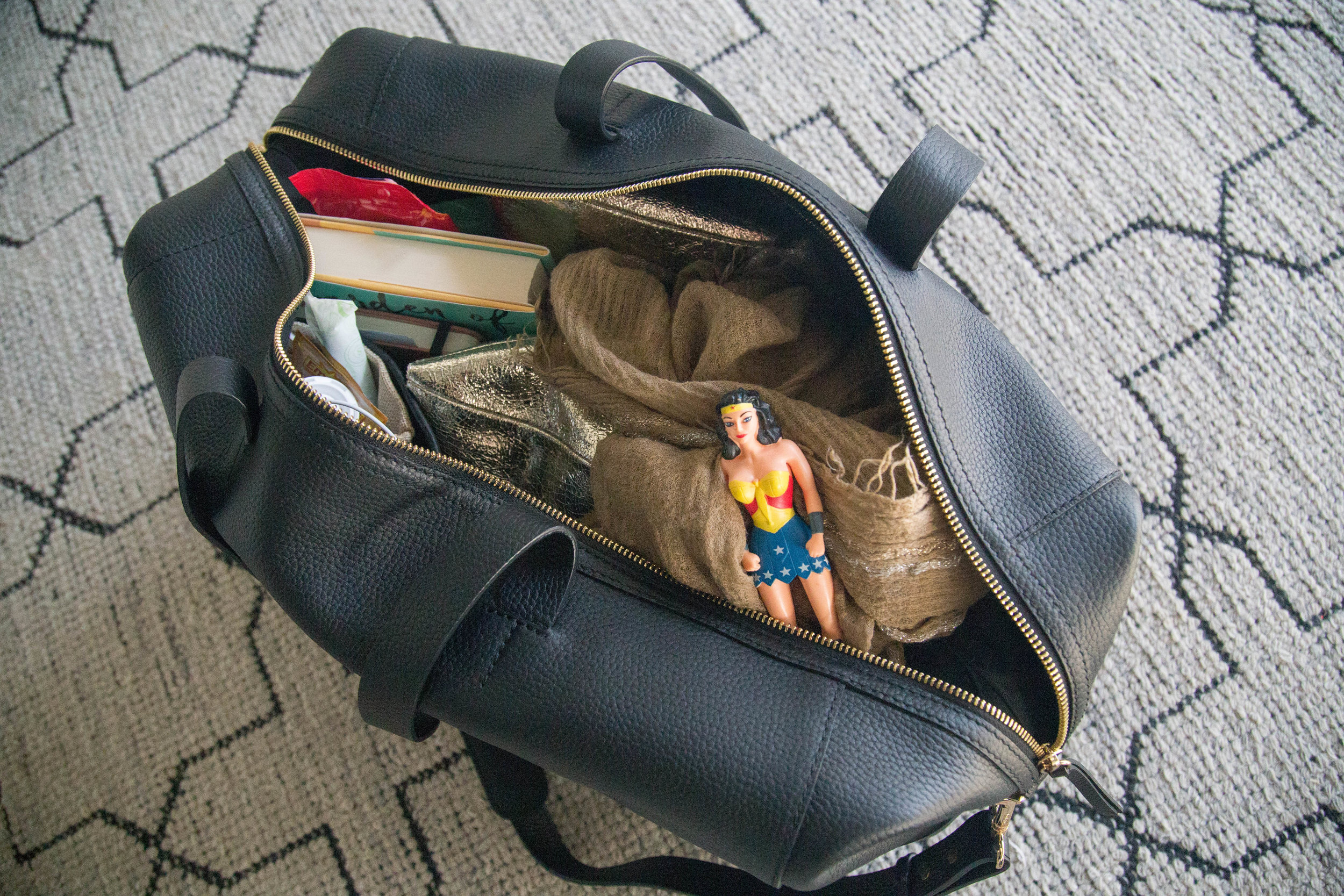 What's In My Carry-On: For Myself & My Kiddos (Photography: Erica Hampton)
