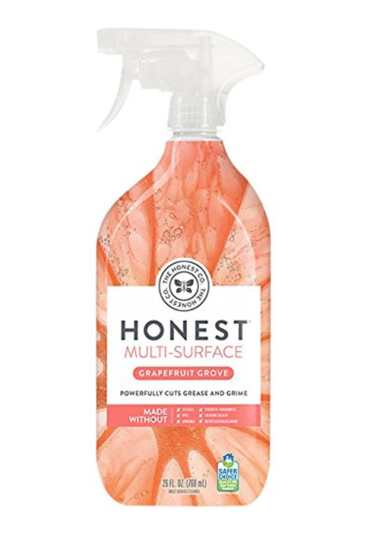 HONEST MULTI-SURFACE CLEANER, GRAPEFRUIT GROVE, PACK OF 1