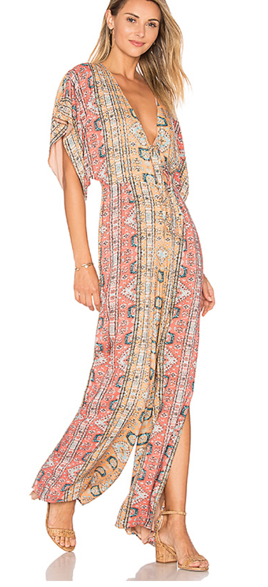 ALE BY ALESSANDRA X REVOLVE JULIA JUMPSUIT IN TAPESTRY