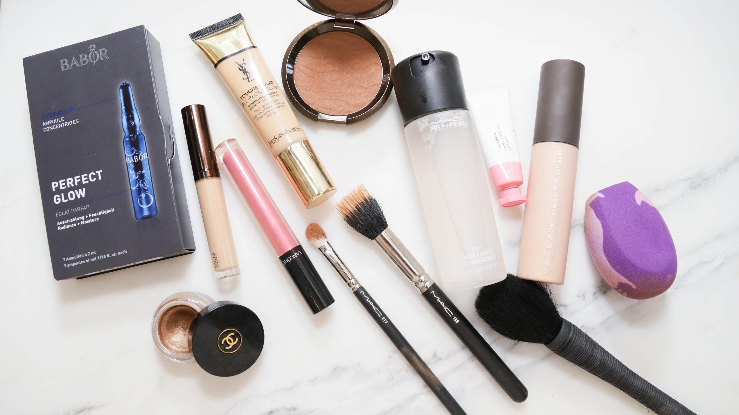 VIDEO: Fake A Summer Glow Makeup Tutorial Photography: Erica Hampton