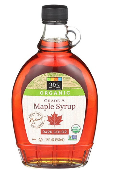 AMAZON.COM : 365 EVERYDAY VALUE, ORGANIC GRADE A MAPLE SYRUP DARK COLOR, 12 OZ :