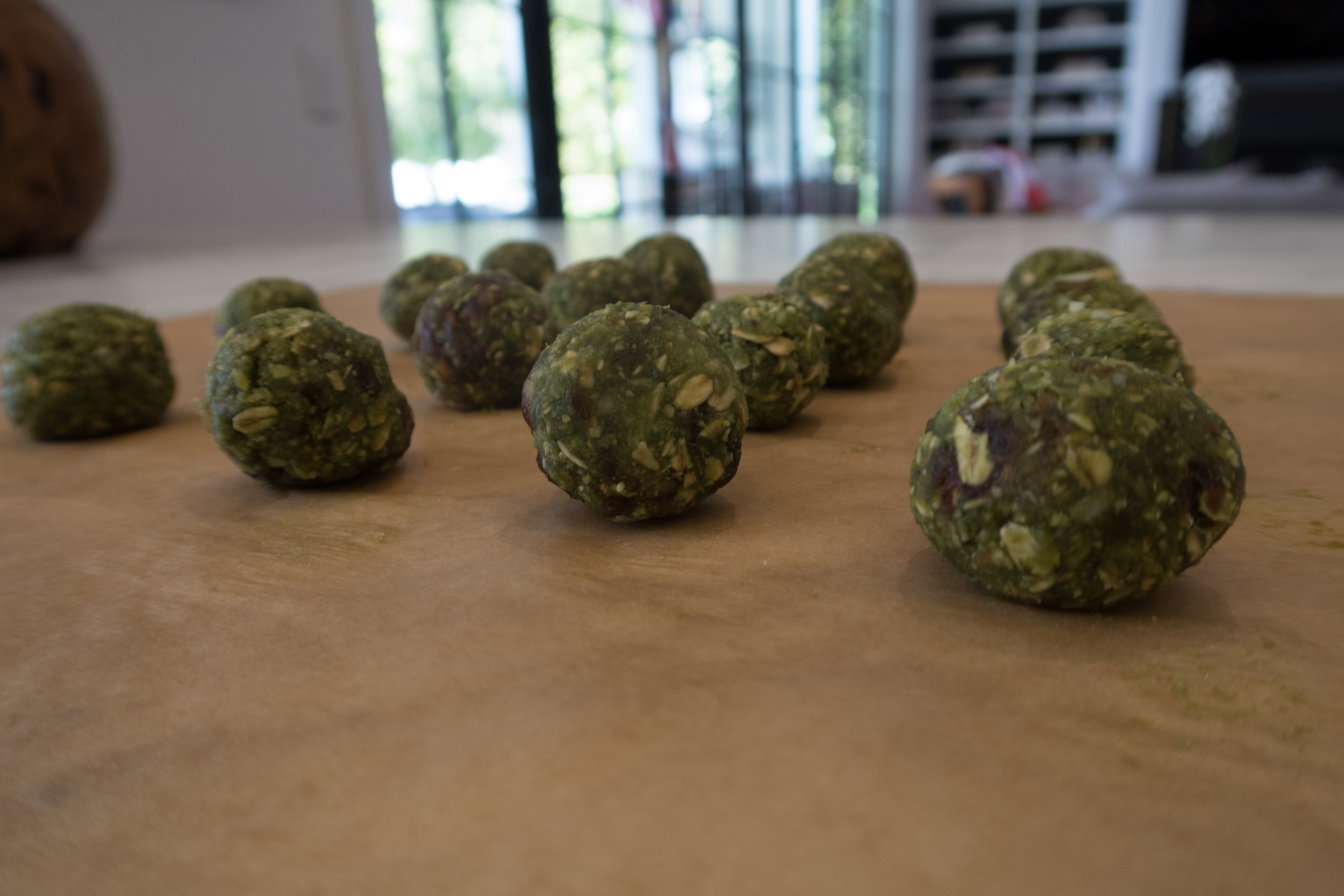 Collagen Matcha Bliss Balls Recipe