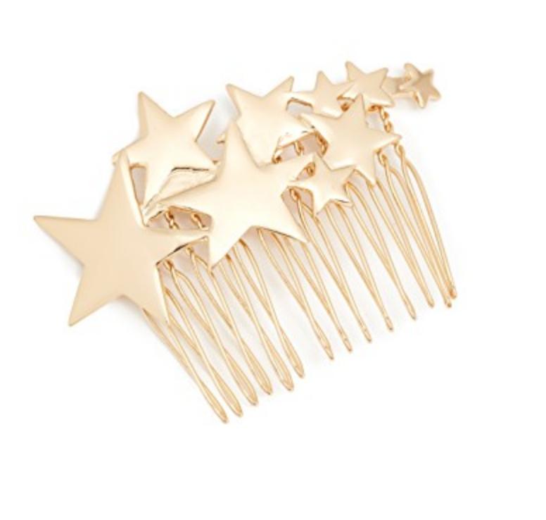 STAR HAIR COMB