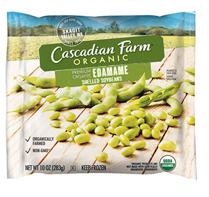 CASCADIAN FARM ORGANIC EDAMAME, ORGANICALLY FARMED FROZEN VEGETABLES, NON-GMO, 10 OZ BAG (FROZEN): AMAZON.COM
