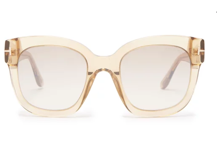SQUARE-FRAME OVERSIZED ACETATE SUNGLASSES | TOM FORD EYEWEAR