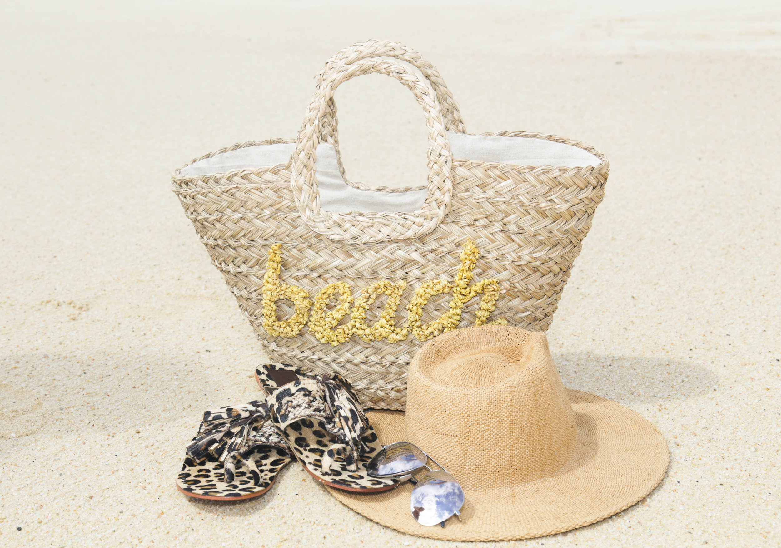 My Beach Bag Essentials (Photography:Erica Hampton)