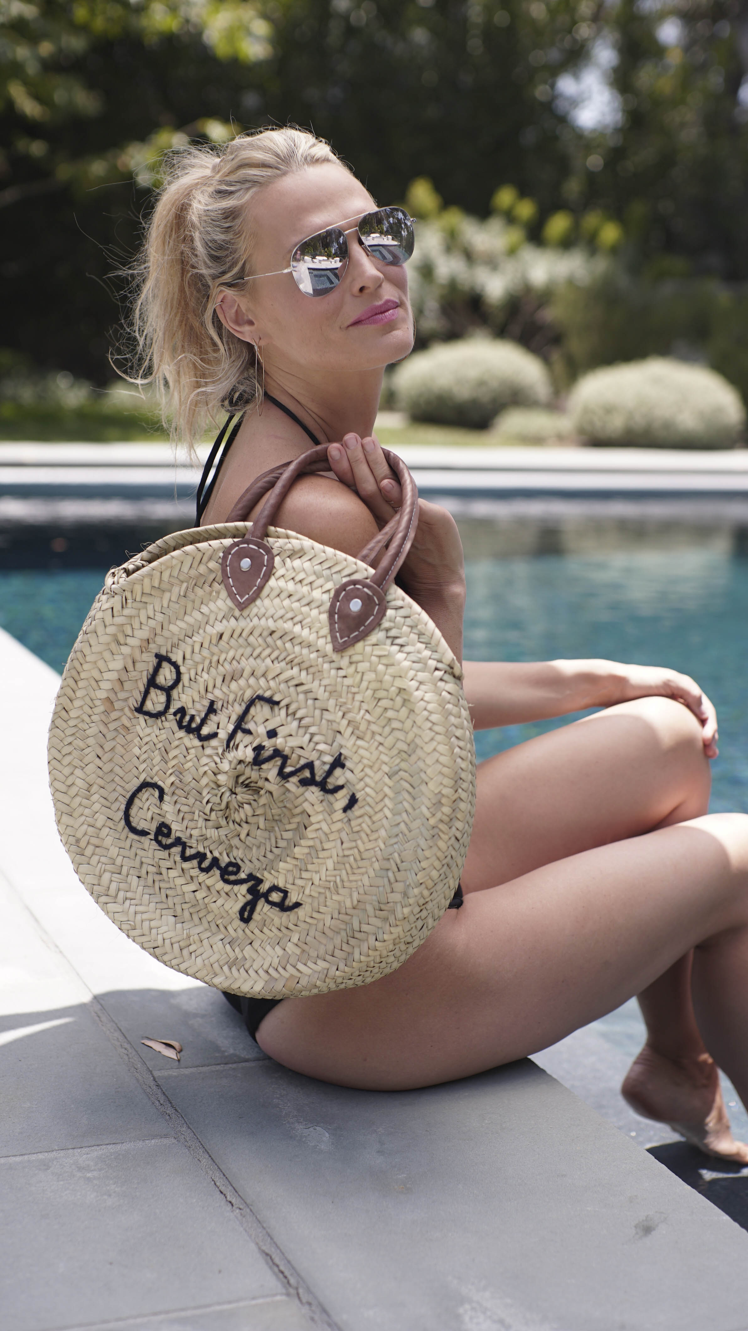 VIDEO: Poolside Makeup Tutorial Full of SPF! (Photography: Tim & Co)