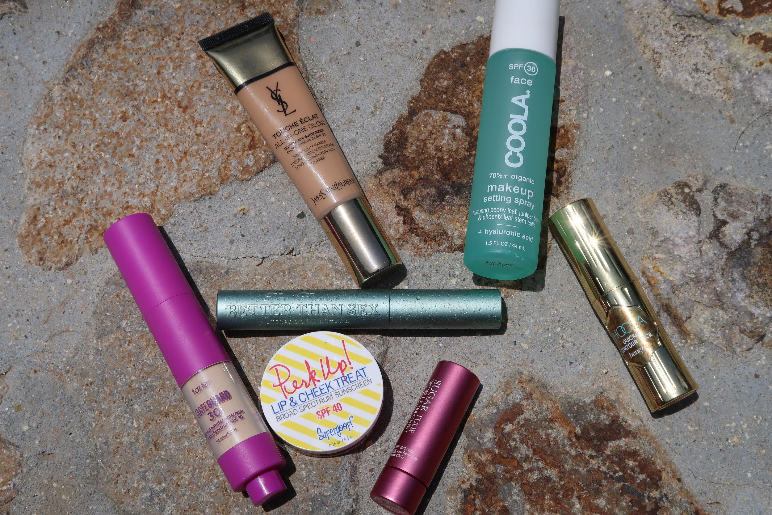 VIDEO: Poolside Makeup Tutorial Full of SPF!