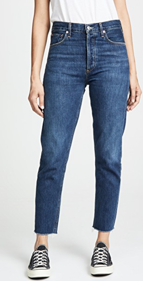 JAMIE HIGH RISE CLASSIC ANKLE JEANS