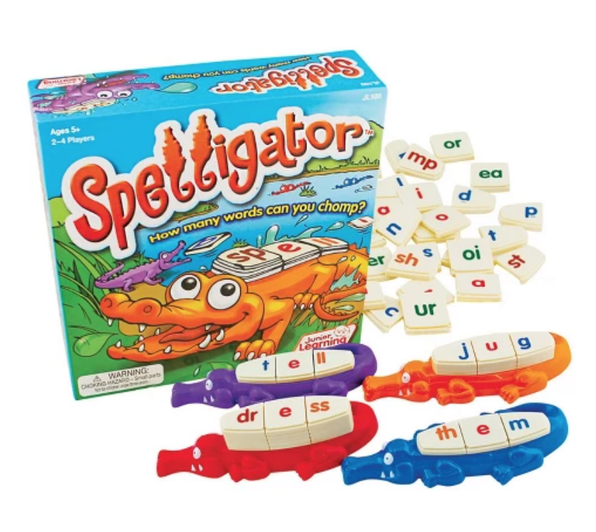 JUNIOR LEARNING® SPELLIGATOR WORD BUILDING GAME