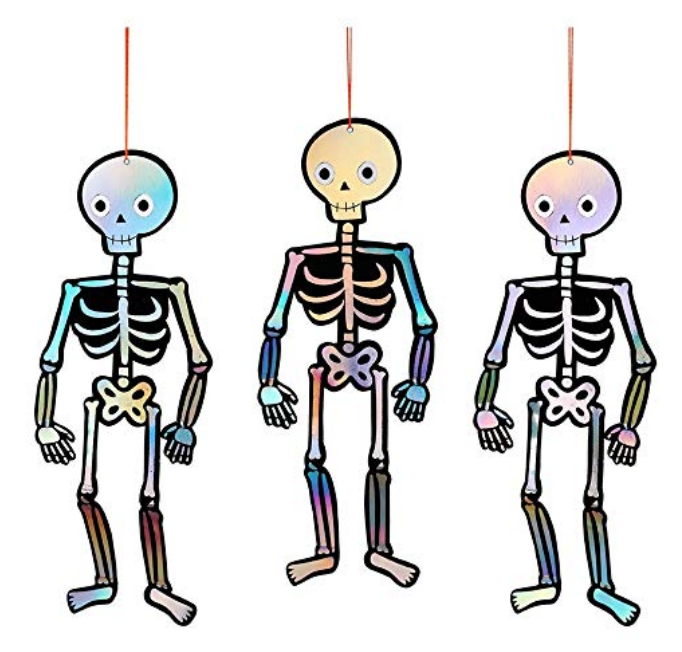 MERI MERI SPOOKY SKELETONS HANGING DECORATIONS