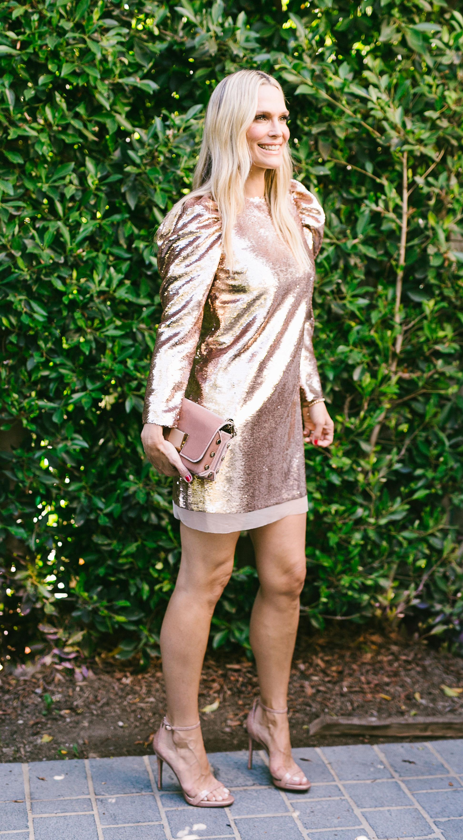 10 Non-Cliche Sequin Holiday Dresses (Photography: Smith house photos)