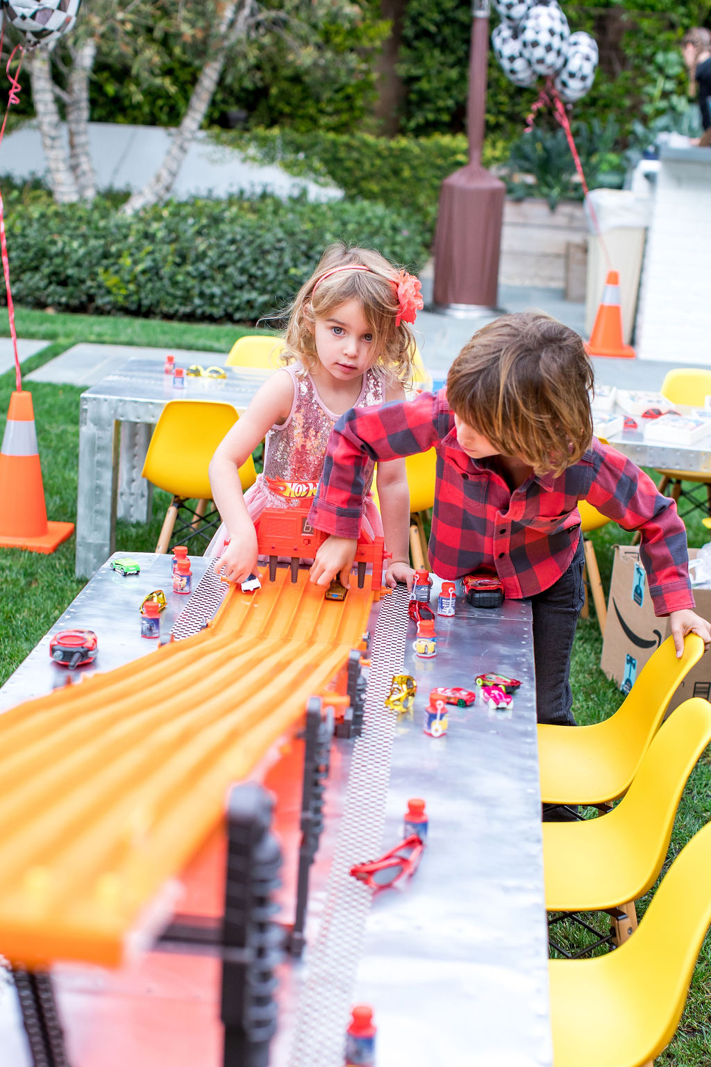 "Inside My 2 Year Old's ""Cars"" Themed Birthday Party (Photography by Sara Block)"
