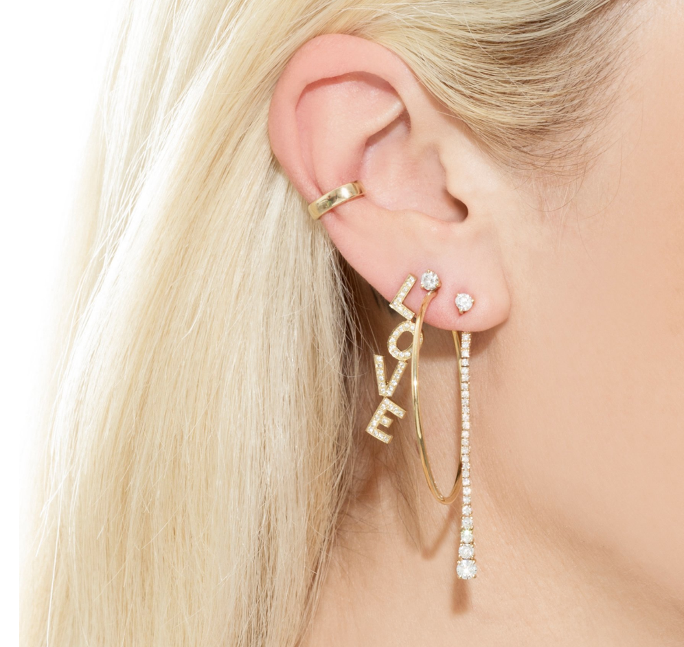 PERFECT GOLD EAR CUFF