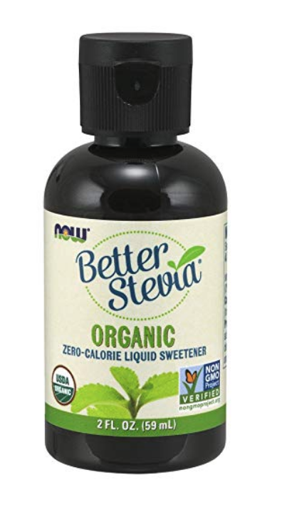 NOW FOODS ORGANIC LIQUID BETTERSTEVIA, 2-OUNCE